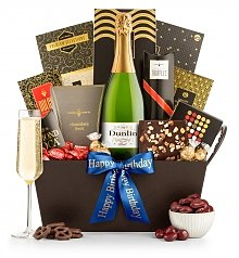 Champagne Gift Baskets: Standing Ovation Champagne & Chocolates