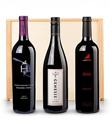 Wine Gift Crates: Great American Red Wine Trio
