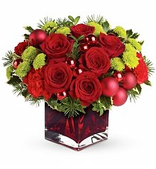 Flower Bouquets: Holiday Soiree Bouquet