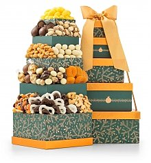 Gift Towers: Holiday Charm Chocolate Tower