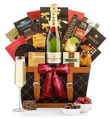 Champagne Gift Baskets: Cheers to You Champagne Basket