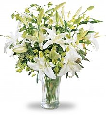 Flower Bouquets: Lilies and More Bouquet